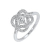 Love's Crossing Diamond Ring in 14K White Gold (1/4 ct. tw.)