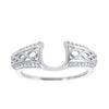 14K White Gold Inserts Prong Diamond Ring (1/6 ct. tw.)