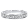 Micro Prong Diamond Band in 14K White Gold (1/2 ct. tw.)