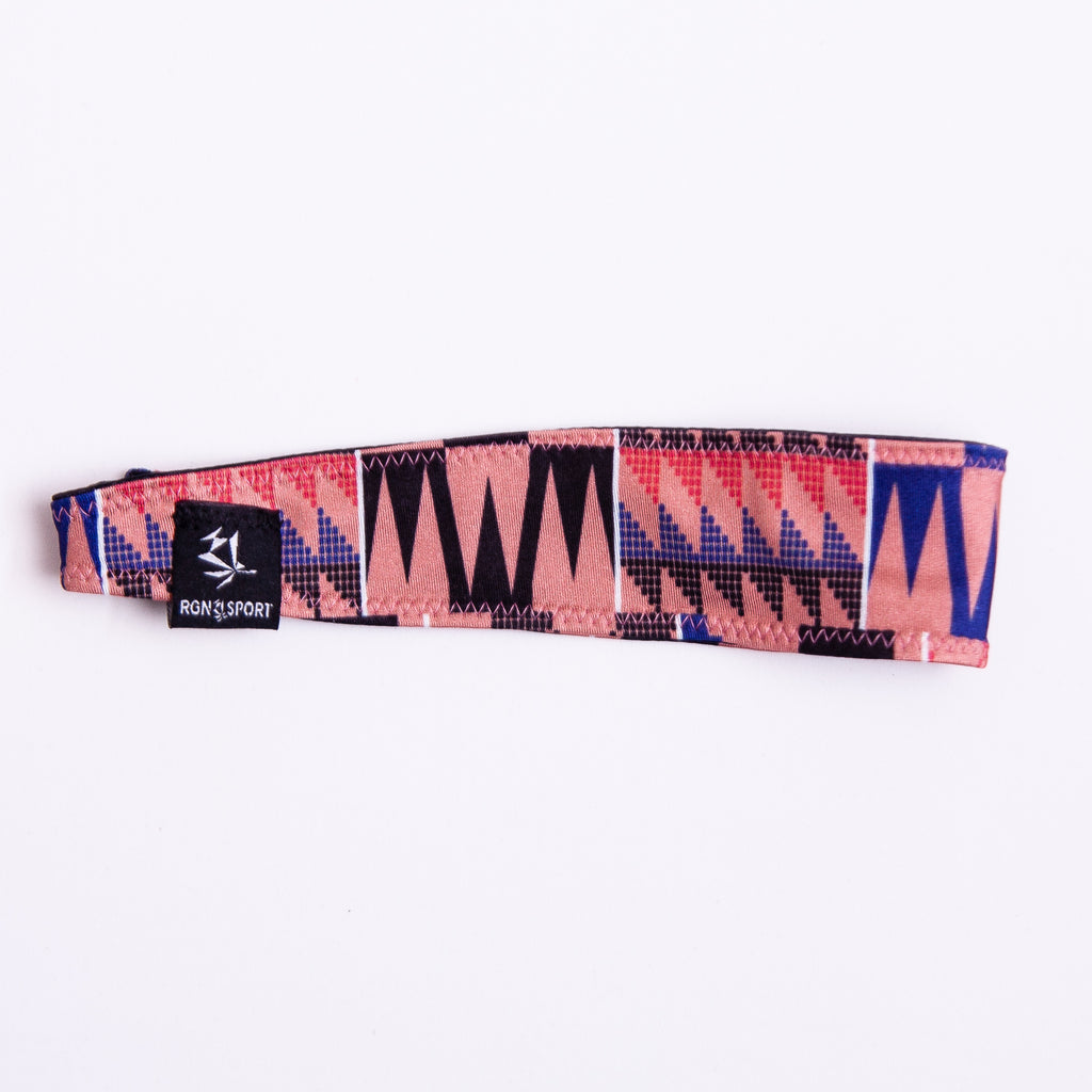 Pink Kente RGN Headband