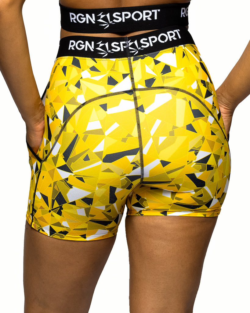 RGN Signature Canary Shorts
