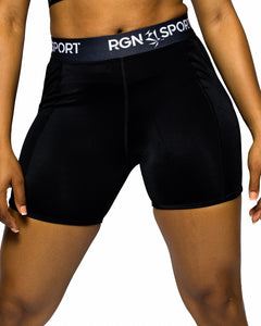 RGN Signature Black Shorts