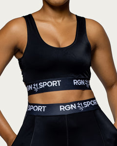 Lift Black Sports Bra