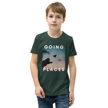 Load image into Gallery viewer, Going Places (Paper Airplane) Youth T-Shirt - 100% Profits Go To Charity
