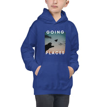 Load image into Gallery viewer, Going Places (Paper Airplane) Kids Hoodie - 100% Profits Go To Charity