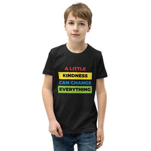 Load image into Gallery viewer, A Little Kindness Can Change Everything Youth T-Shirt - 100% Profits Go To Charity