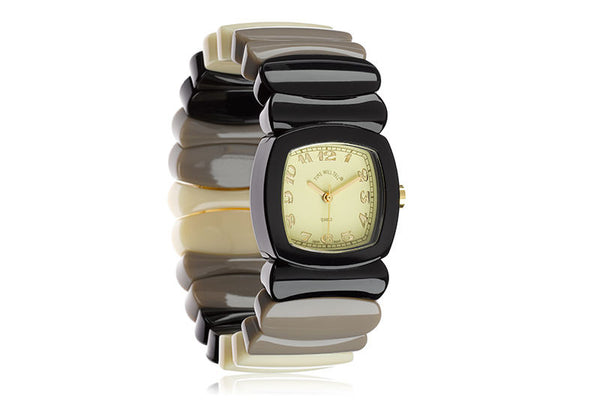 Madison Watch - Black Soho Rainbow