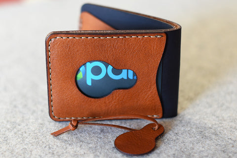 Bi-Fold Hand Stitched wallet with card slot