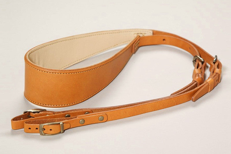 Natural Tanned Leather Camera Strap