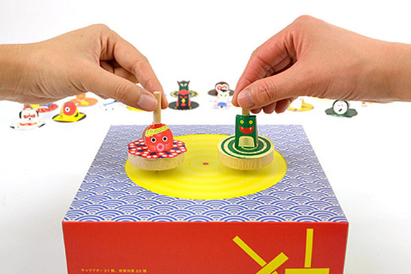 Koma Spinning Top Play Set