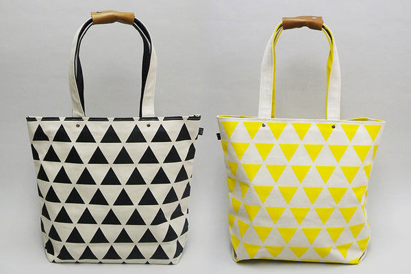 Canvas Tote Bag - Geometric