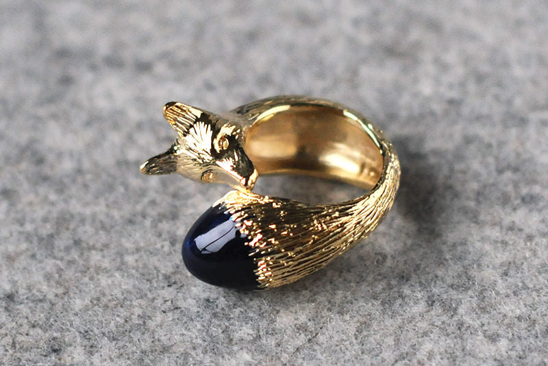 Golden Fox Ring
