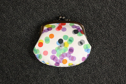 Polka Dot Clip Purse