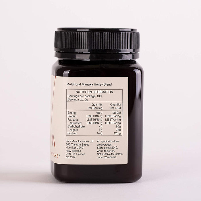 Three Peaks Multifloral Blend Manuka Honey