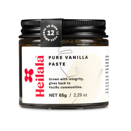 Heilala Pure Vanilla Paste- Grown with integrity, gives back to the Pacific Community