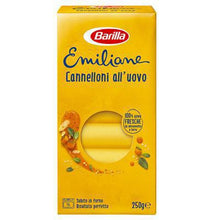 Load image into Gallery viewer, Barilla Emiliane Cannelloni all' uovo 250g