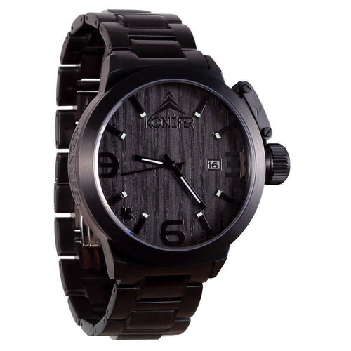 Karbon Black Matte Ebony - Konifer Watch