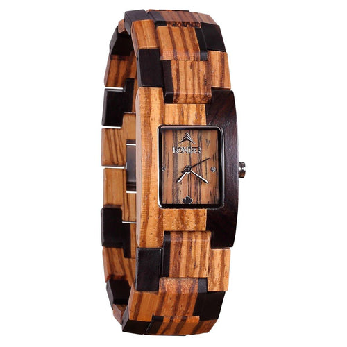 Boreal black zebra - Konifer Watch