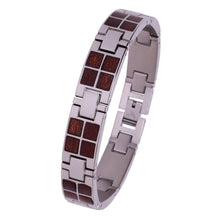 Load image into Gallery viewer, Stainless and Wood Bracelet # BT001 - Konifer Watch