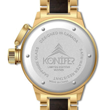Load image into Gallery viewer, Karbon OR 24K + Black Sandalwood - Konifer Watch
