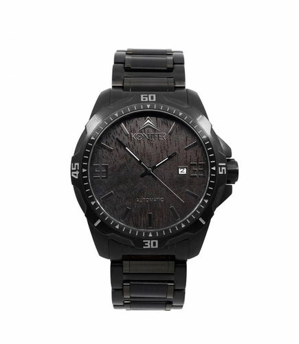 Klassic Black on Black - Konifer Watch