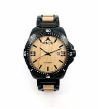 Upload image to gallery, Klassic Black Stainless Maple - Konifer Watch