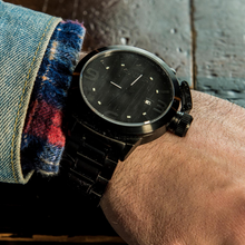 Charger l'image dans la galerie, Karbon Black Matte Ebony - Konifer Watch