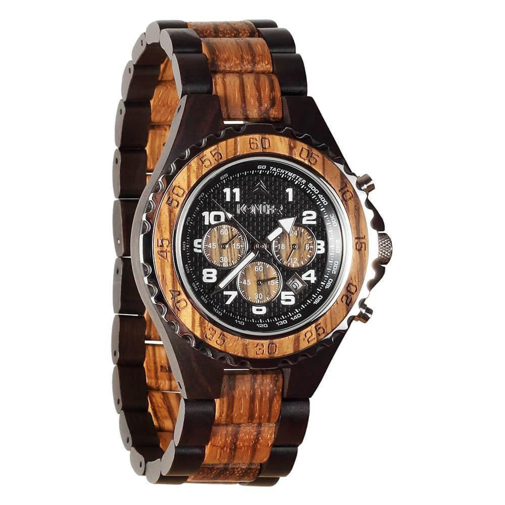 Krono Black Zebra - Konifer Watch