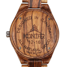 Charger l'image dans la galerie, Sequoia Zebra - Konifer Watch