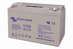 Victron energy 12V/110Ah AGM Deep Cycle Batt. (M8)