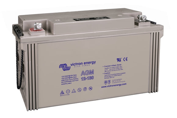 Victron energy 12V/130Ah AGM Deep Cycle Batt. (M8)