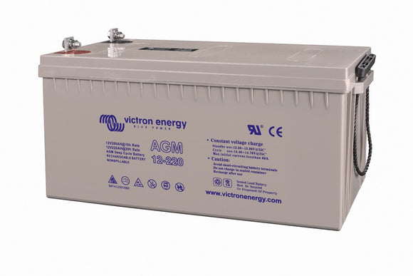 Victron energy 12V/220Ah AGM Deep Cycle Batt.