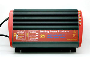 Sterling Power USA- Waterproof 20 amp, 1 Bank Marine Battery Charger