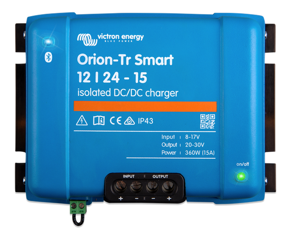 Victron Energy Orion-Tr Smart 12/24-15A (360W) Isolated DC-DC charger