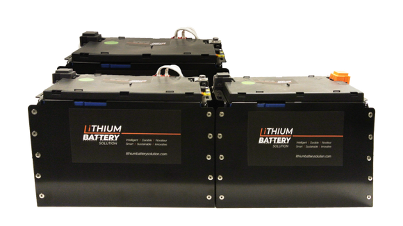 Lithium Battery Solution | 3X LBS 271 (LiFePO4) | Commercial Industrial battery Lithium-ion | with External BMS
