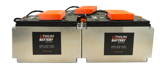 Lithium Battery Solution | 3X LBS 200 (LiFePO4) | Commercial Industrial battery Lithium-ion | with External BMS