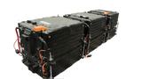 Lithium Battery Solution | 3X KIA 125 (LiFePO4) | Commercial Industrial battery Lithium-ion | with External BMS