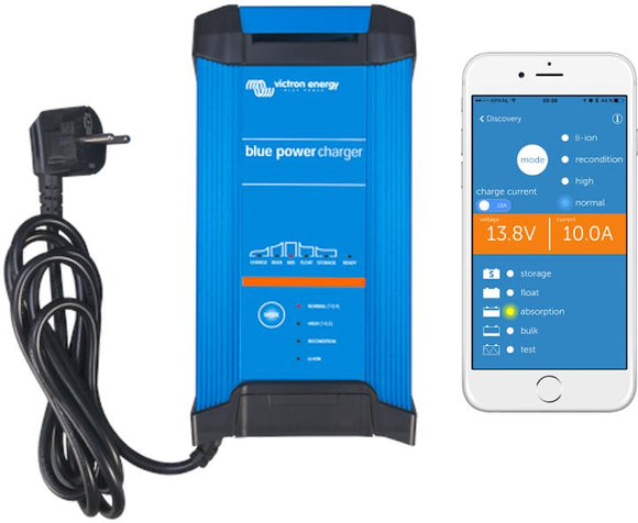 Victron Energy Blue Smart IP22 Battery Charger 24/16(3) 230V CEE 7/7 | BPC241648002