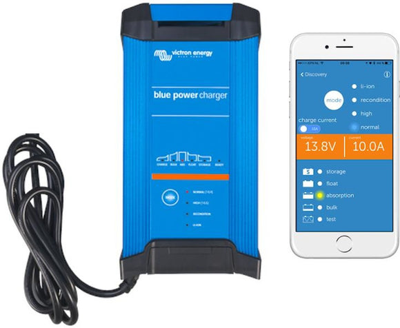 Victron Energy Blue Smart IP22 Battery Charger 24/16(1) 230V UK | BPC241647022