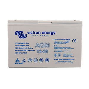 Victron energy 12V/38Ah AGM Super Cycle Batt. (M5)