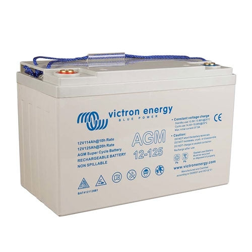 Victron energy 12V/125Ah AGM Super Cycle Batt. (M8)