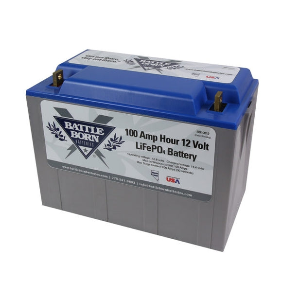 Battleborn 100Ah 12V LiFePO4 Deep Cycle Battery