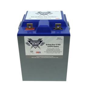 50Ah 12V LiFePO4 Deep Cycle Battery