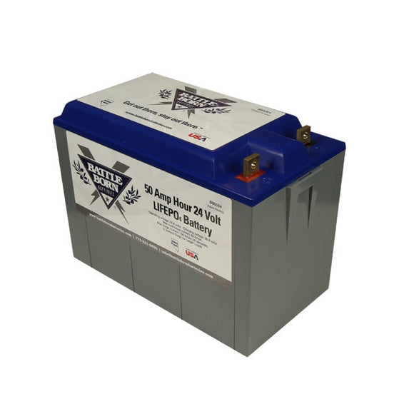 Battleborn direct replacement battery 50Ah 24v LiFePO4 Deep Cycle Battery