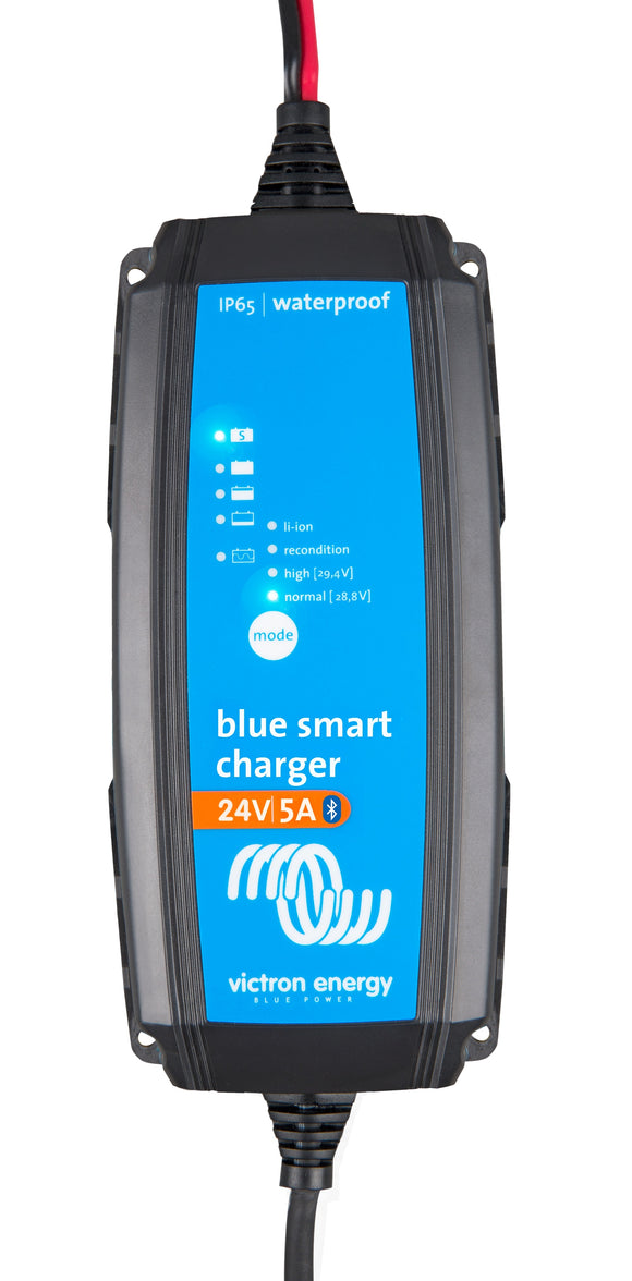 Blue Smart IP65 Charger 24/5(1) 230V CEE 7/17 Retail
