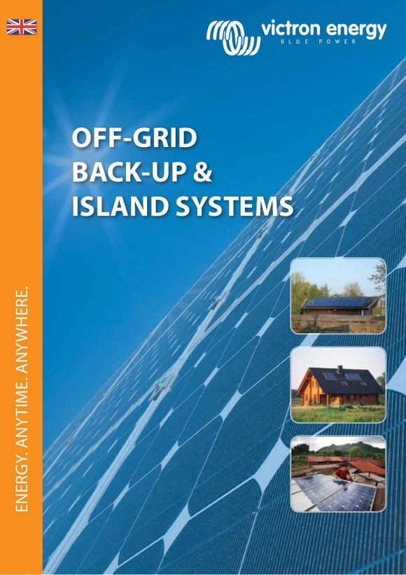 Victron Energy poster A3-Off-grid, back-up/Island systems EN-5 pcs