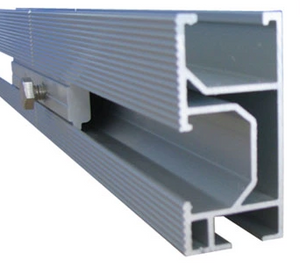 solar racking support Rail 169''