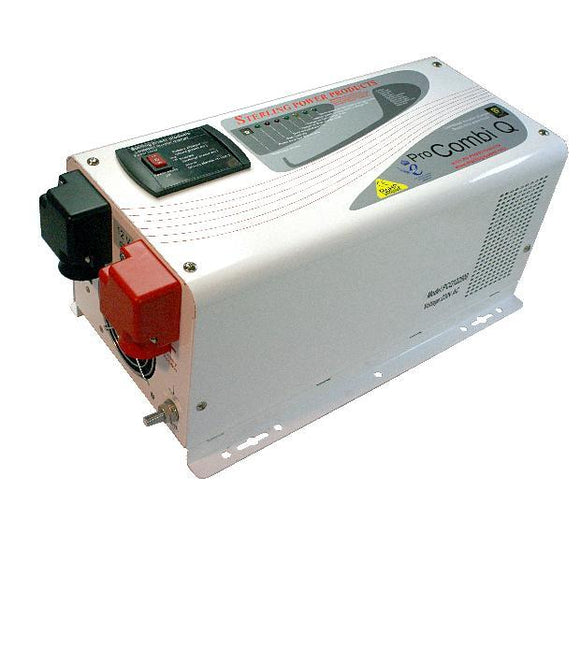 Sterling Power ProCombi-Q - Quasi Sine Wave Combination Inverter Charger - 24 volt, 1600w, 120vac, 60 Hertz for American use