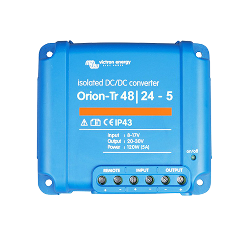 Victron Energy Orion-Tr 48/24-5A (120W) Isolated DC-DC converter