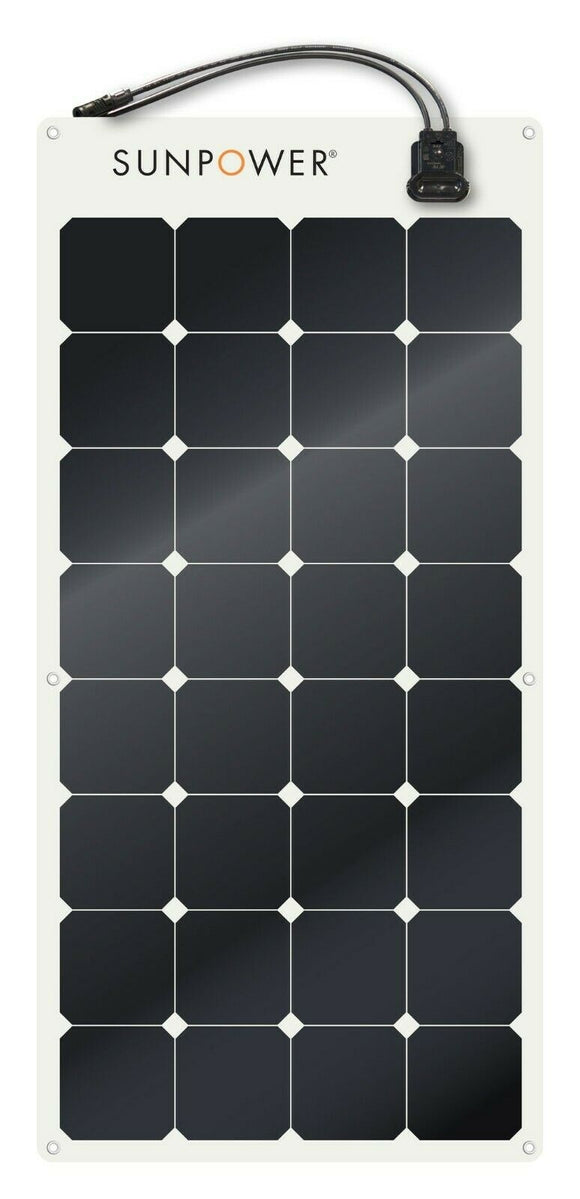 Semi Flexible Solar Panel 110W